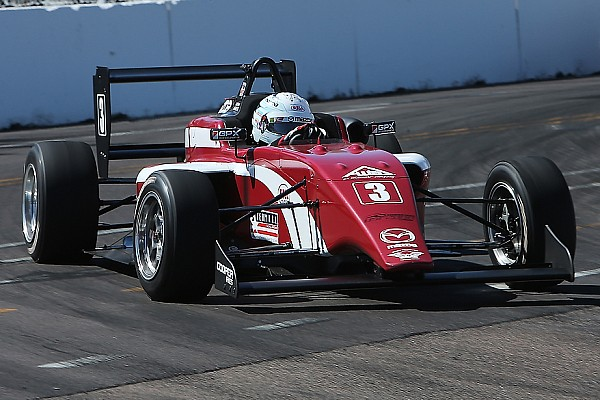 USF2000 Qualifying report Indy GP USF2000: Askew takes another pole