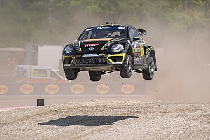 Global Rallycross Race report Tanner Foust sweeps GRC Seattle