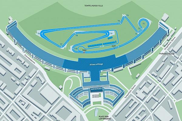 Formule E Actualités Le nouveau tracé de Berlin Tempelhof pour la Formule E dévoilé