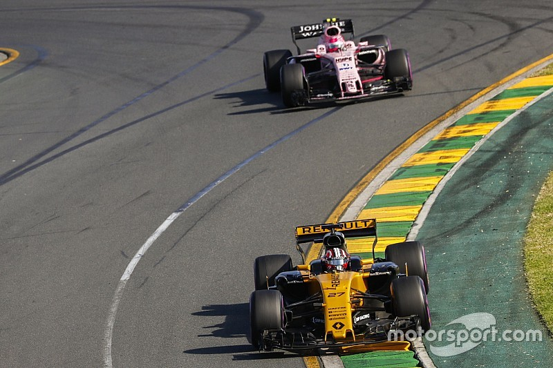 "Renault doing ""much better"" than expected, says Force India"