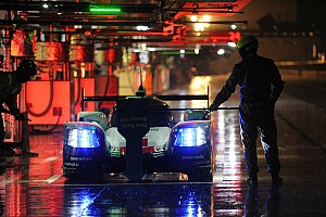 WEC Testing report Porsche leads washed out WEC Prologue night test