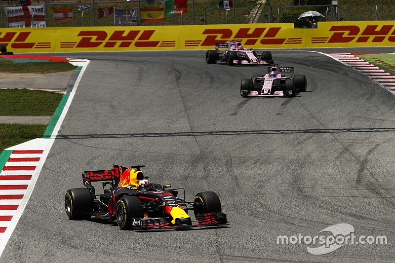 Red Bull y Force India niegan estar en una batalla