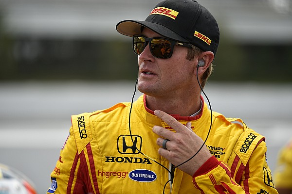 Hunter-Reay stoico: correrà a Pocono dopo un crash da 139 G!