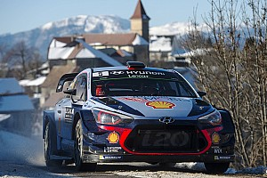 WRC Leg report Monte Carlo WRC: Neuville, Evans share Saturday morning stage wins