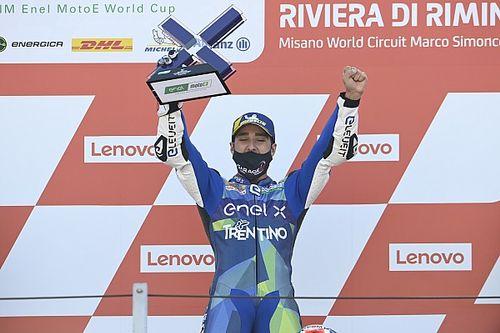 Reigning champion Ferrari wins Misano MotoE round