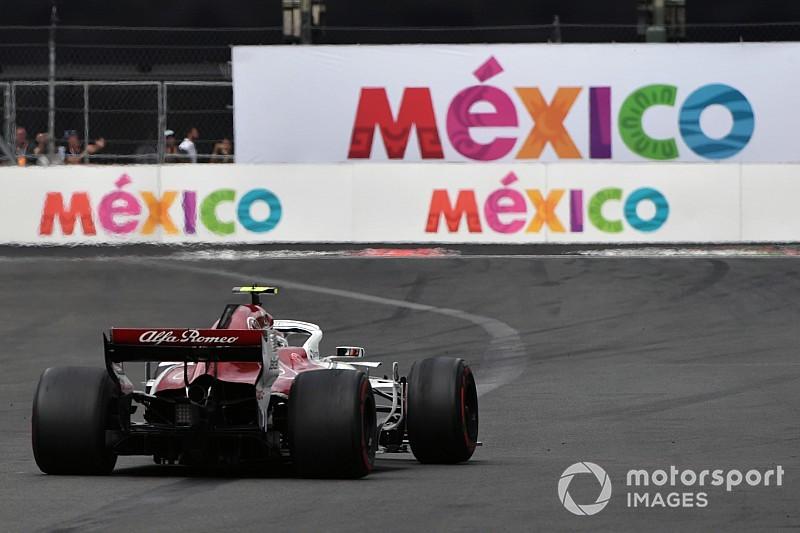 Diaporama: l'Alfa Romeo Sauber dans le Grand Prix du Mexique