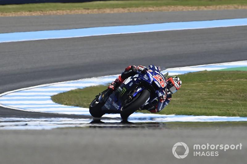 Yamaha scoort 1-2 in allereerste vrije training Thaise GP