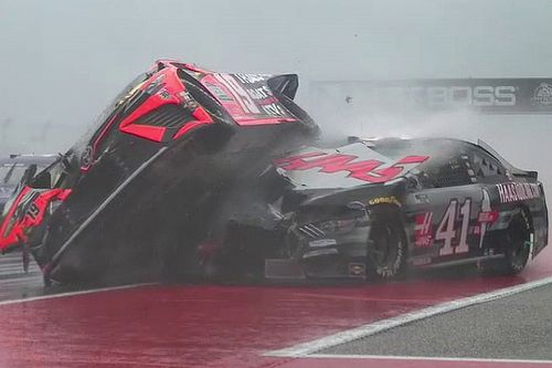 NASCAR red flags COTA race as rain and poor visibility sparks chaos
