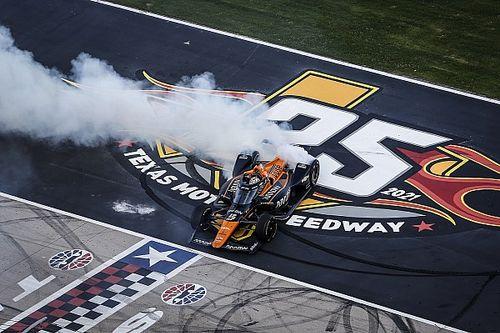 O'Ward: siento alivio con mi primera victoria en IndyCar