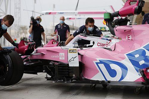 Pérez penaliza en la parrilla de Abu Dhabi por cambio de motor