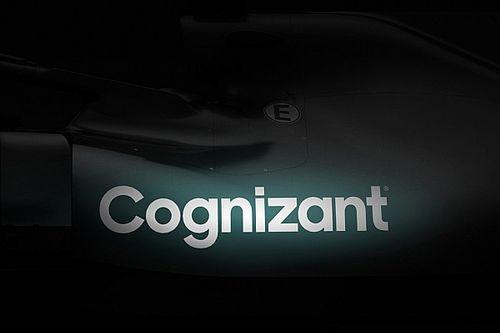 Aston Martin F1 volledig groen, sponsor Cognizant vervangt BWT