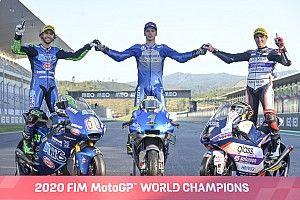 Palmarés completo de la temporada 2020 de motociclismo