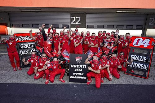 Gelar Konstruktor MotoGP, Buah Kerja Keras Ducati