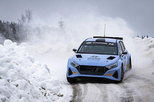 Solberg e Breen continuano i test con la Hyundai Rally2 su neve
