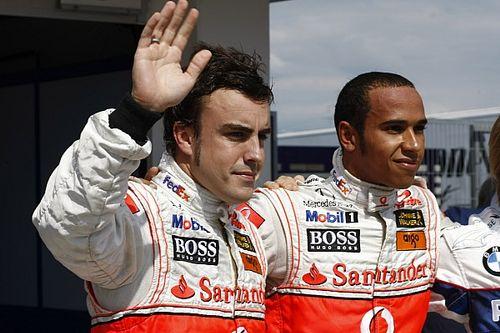 """Hamilton Alonso visszatéréséről: """"Már hogy ne örülnék neki?"""""""