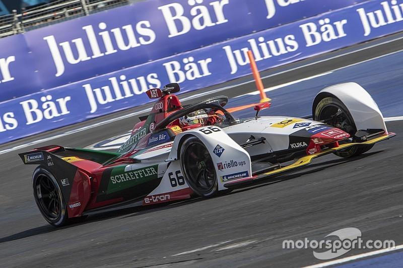 Abt inicia como el más rápido en la primera práctica en México