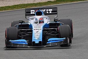 Williams FW42 akhirnya mengaspal di tes F1