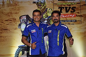Aravind KP returns to India after historic Dakar finish