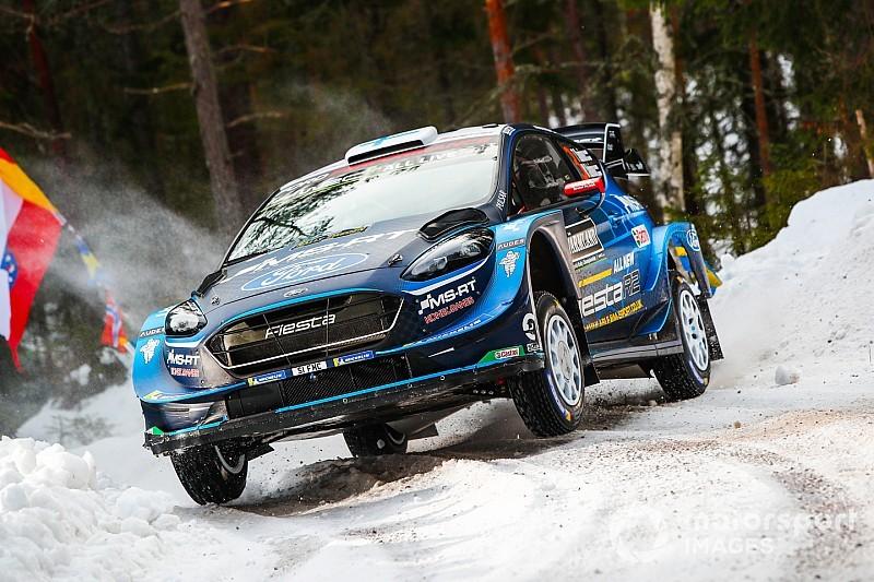 Sweden WRC: Suninen goes top, trouble for Latvala, Ogier