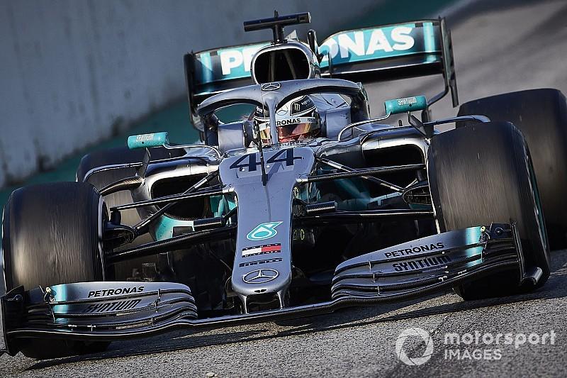 Mercedes dice que cambiar su idea de alerón delantero llevaría meses
