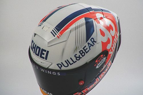 Fotos: Marc Márquez lucirá un casco retro en el GP de Alemania