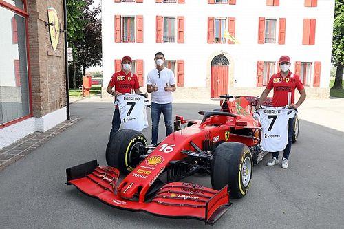 Роналду пропустил тренировку «Ювентуса» ради визита в Ferrari