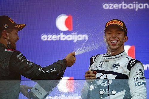 """F1 - Gasly diz que é cedo para resolver futuro: """"Está nas mãos da Red Bull"""""""