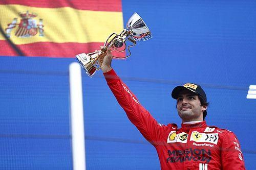 """Sainz a réalisé son """"meilleur week-end avec Ferrari"""""""