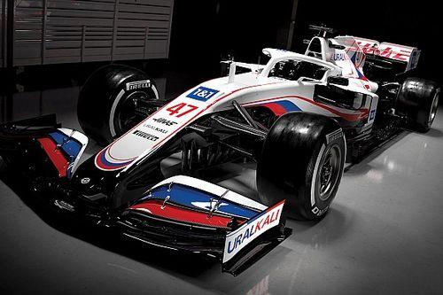 Haas: la livrea diventa bianca con i colori della Russia