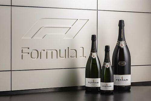 La F1 abbandona lo champagne e passa al Ferrari Trento