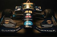 Jimmie Johnson's Carvana IndyCar livery unveiled