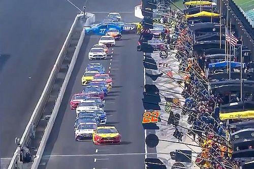 NASCAR: Lambança na entrada de pits fere membro de equipe em Indianápolis