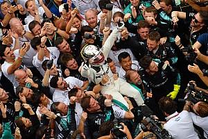 Wolff: no tendríamos cinco títulos si no fuera por Hamilton