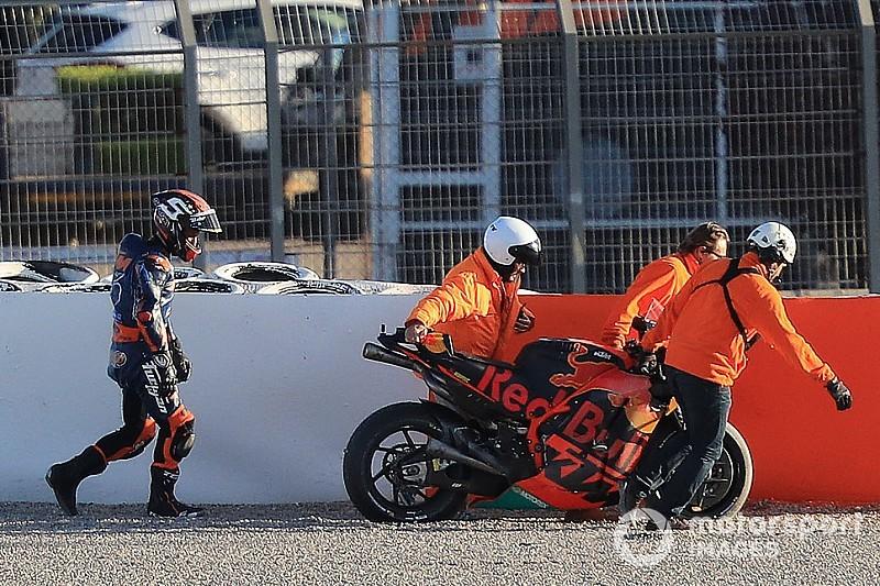 Після перших тестів із KTM Зарко вирішив змінити свій стиль їзди