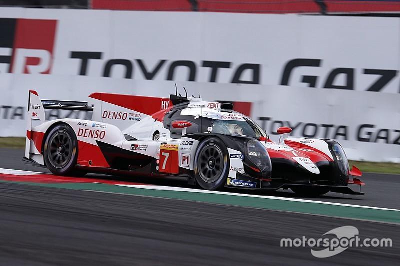Kobayashi cierra los libres con el mejor tiempo para Toyota