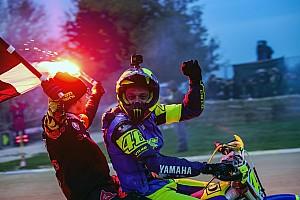 GALERI: Rossi-Morbidelli juarai 'La 100km Dei Campioni'