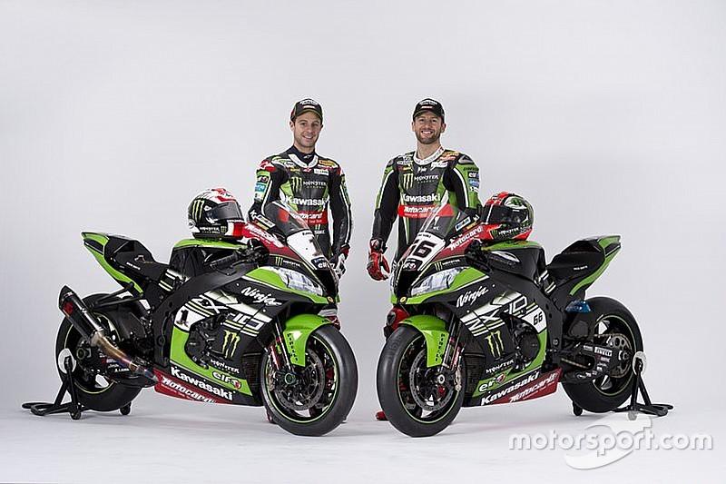 Kawasaki launches bike for WSBK title defence