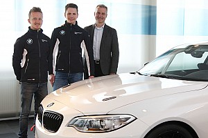 Touring Breaking news Collard and Menzel become BMW juniors