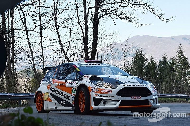 Prima esperienza al Rally Targa Florio per Simone Tempestini