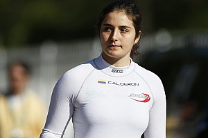 "GP3 Special feature Tatiana Calderon: ""We've done the hard part, now we need some luck!"""