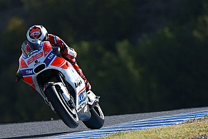 "MotoGP Breaking news Lorenzo ""one or two tenths"" off leaders' pace in Jerez"