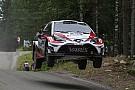 WRC Finlandia, PS5-6-7: dominio Toyota con Latvala e Lappi