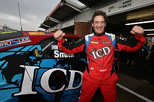 BTCC Qualifying report Brands Hatch BTCC: Smith takes shock pole in chaotic qualifying