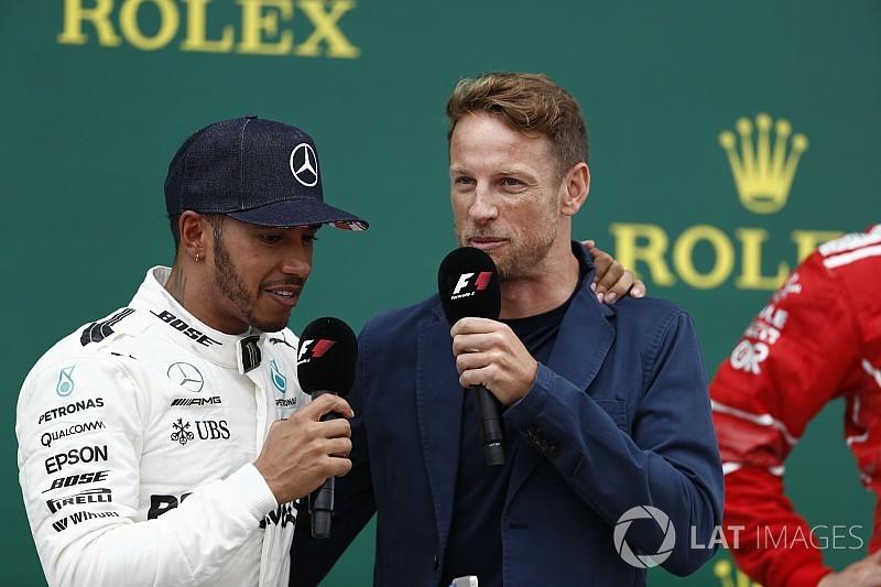"""Button: """"Hamilton fue un poco extraño como compañero"""""""