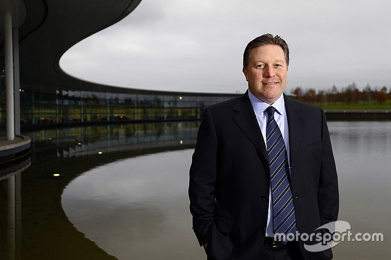 Zak Brown uitvoerend directeur bij McLaren Technology Group