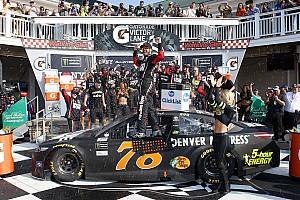 NASCAR Cup Отчет о гонке Труэкс выиграл гонку NASCAR в Уоткинс-Глене