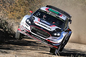 WRC Leg report Argentina WRC: Evans takes command as Latvala hits trouble