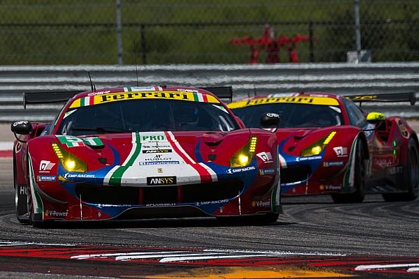 Ferrari WEC kadrosunu değiştirmeyecek