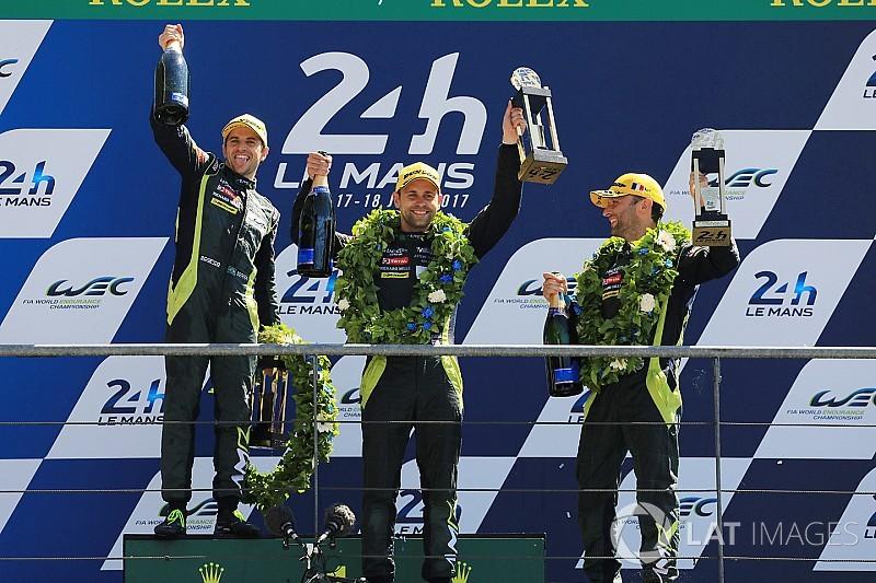 Em fim épico, Serra é 3º brasileiro a triunfar em Le Mans