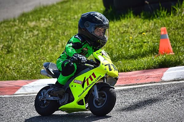 UASBK Важливі новини Тимур Кулєшов розпочав сезон дитячих мотоперегонів